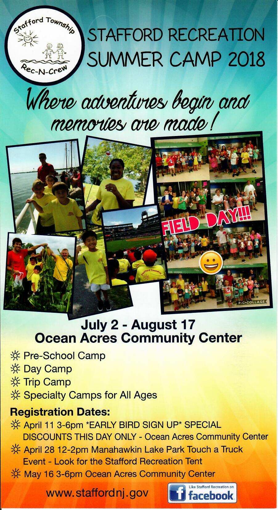 Camp Flyer 2018 Front