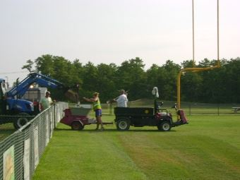 2010 Football Field Renovations