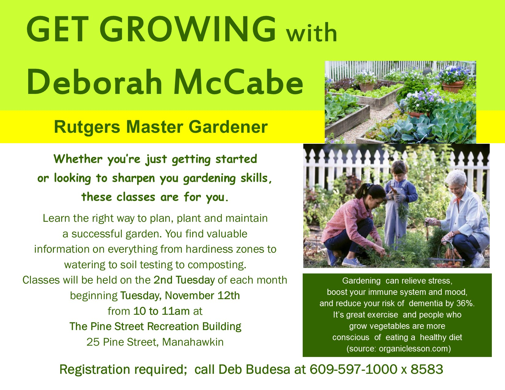 Get Growing Flyer