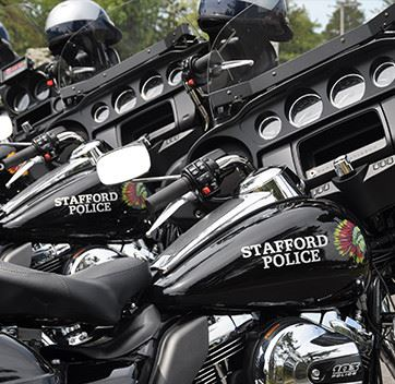 Stafford Township Police Motorcycles