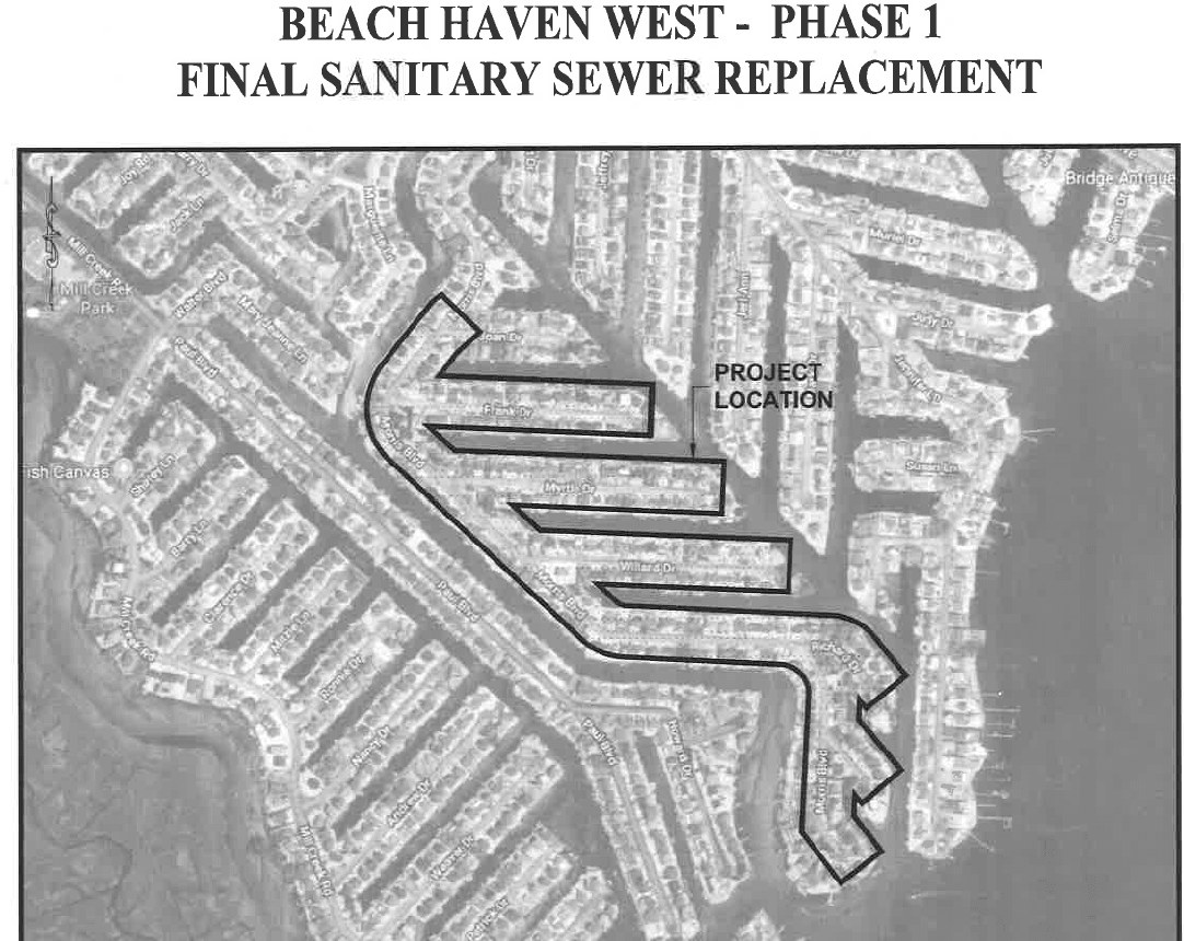 Beach Haven West Phase 1 Sanitary Sewer Replacement
